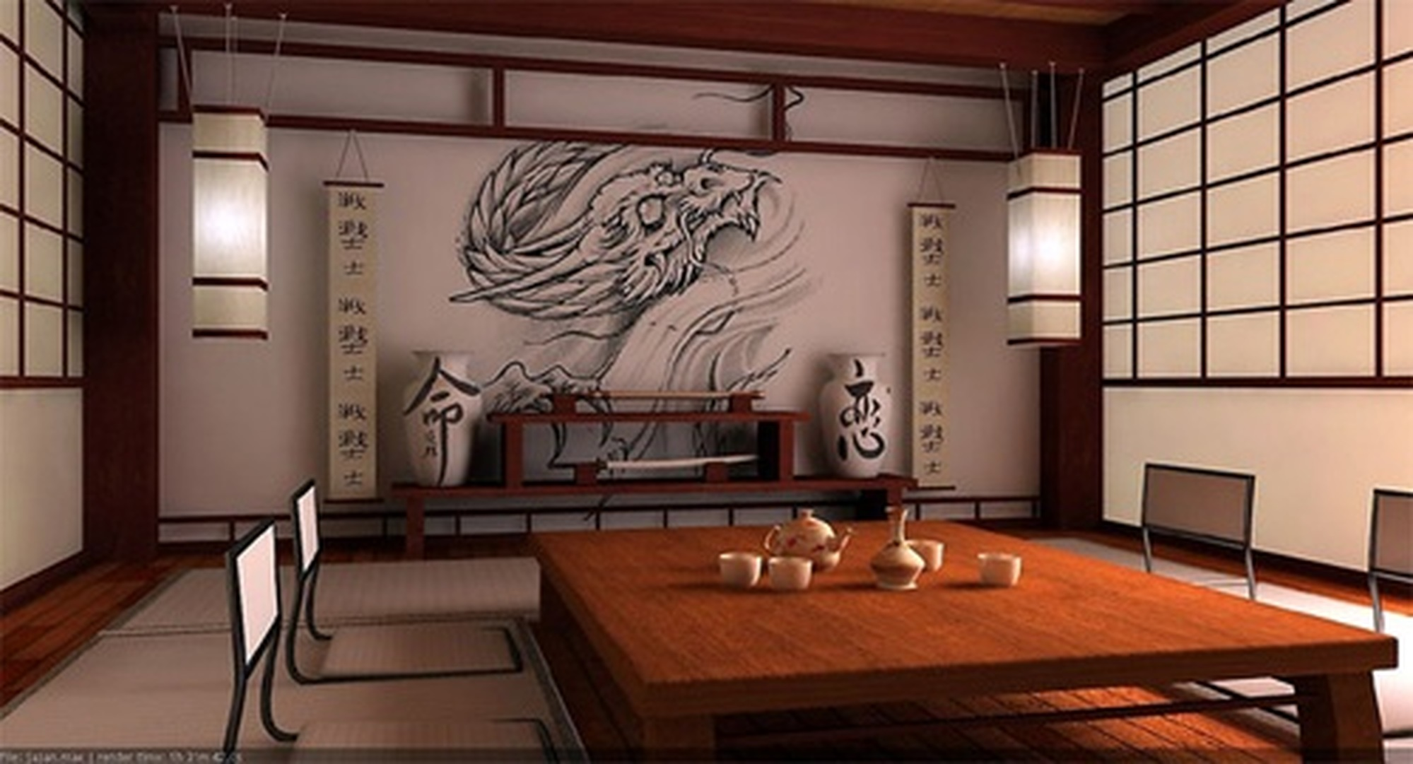 Японская эстетика в дизайне